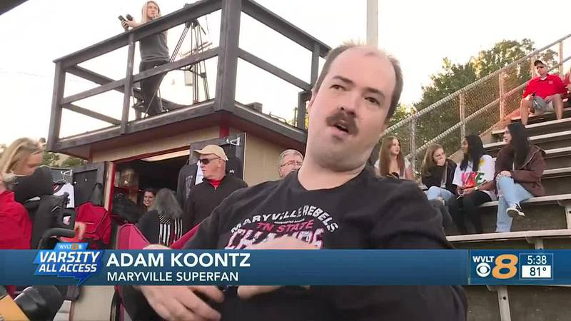 Man attends 270 Maryville games