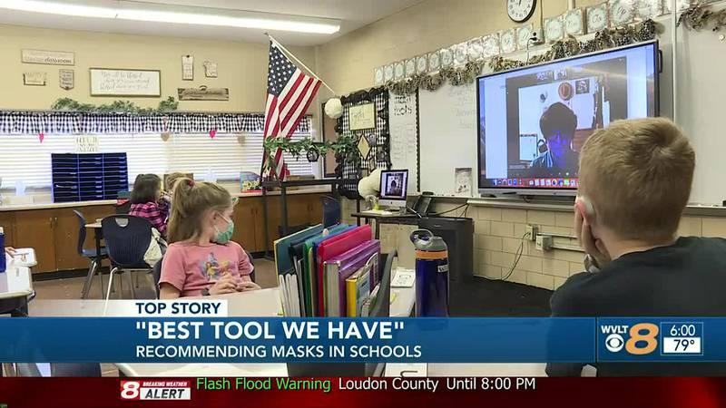 Gov. Lee recommends masks in schools