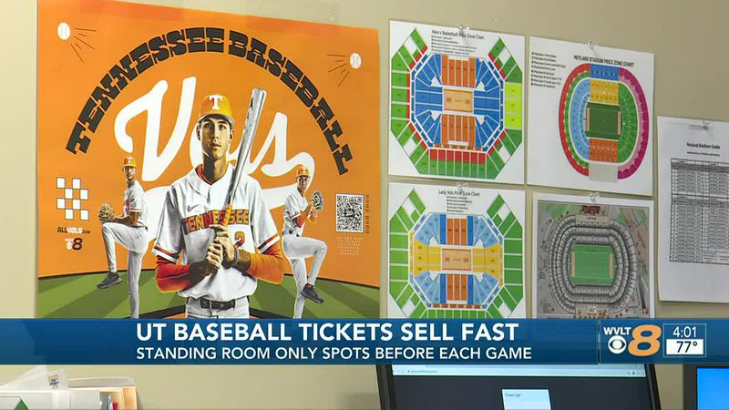 UT Baseball Tickets Sell Out Fast
