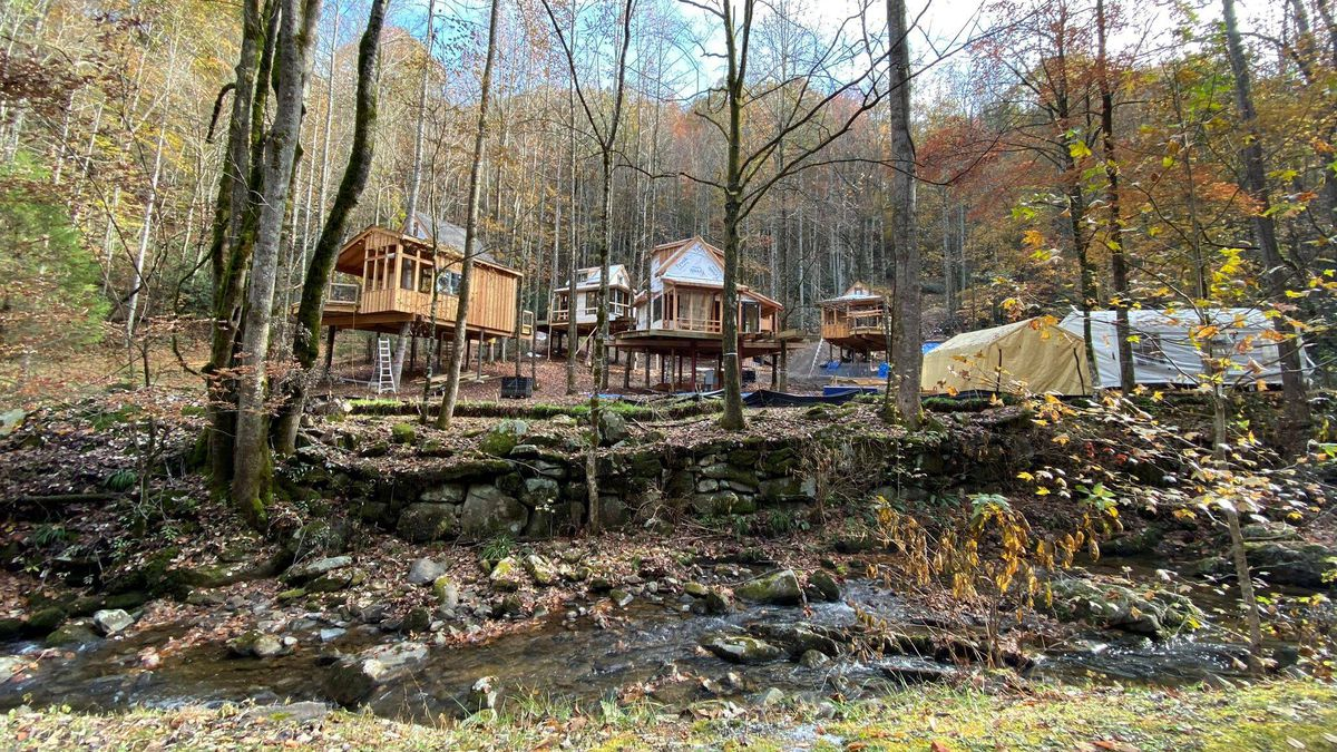 Eight treehouses being built by Pete Norton in Gatlinburg / Source: (Norton Resorts)