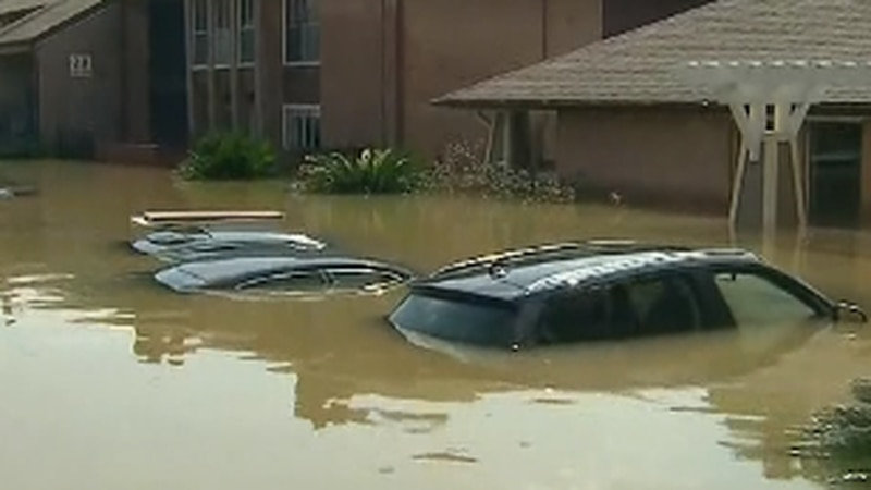 Local car dealership shows how to avoid buying one of those flooded cars