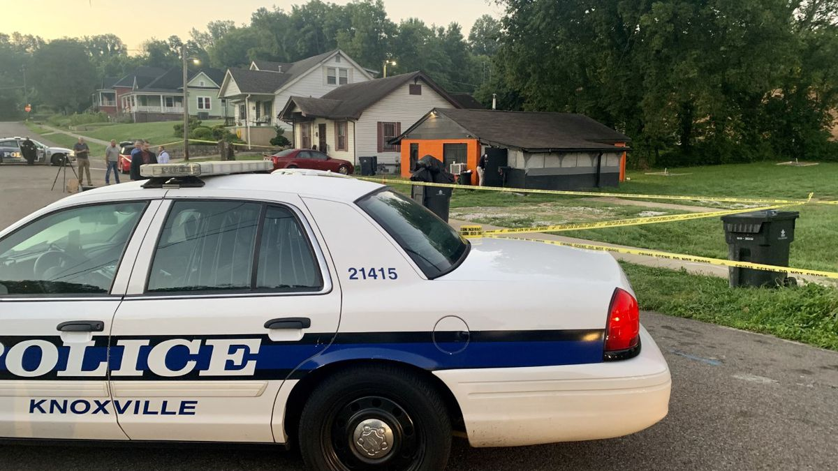 Knoxville police is investigating a double homicide.