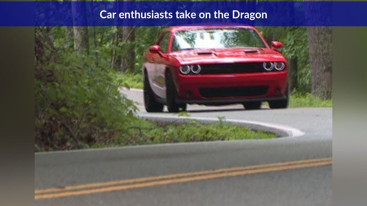 Car enthusiasts take on the Dragon / Source: WVLT News