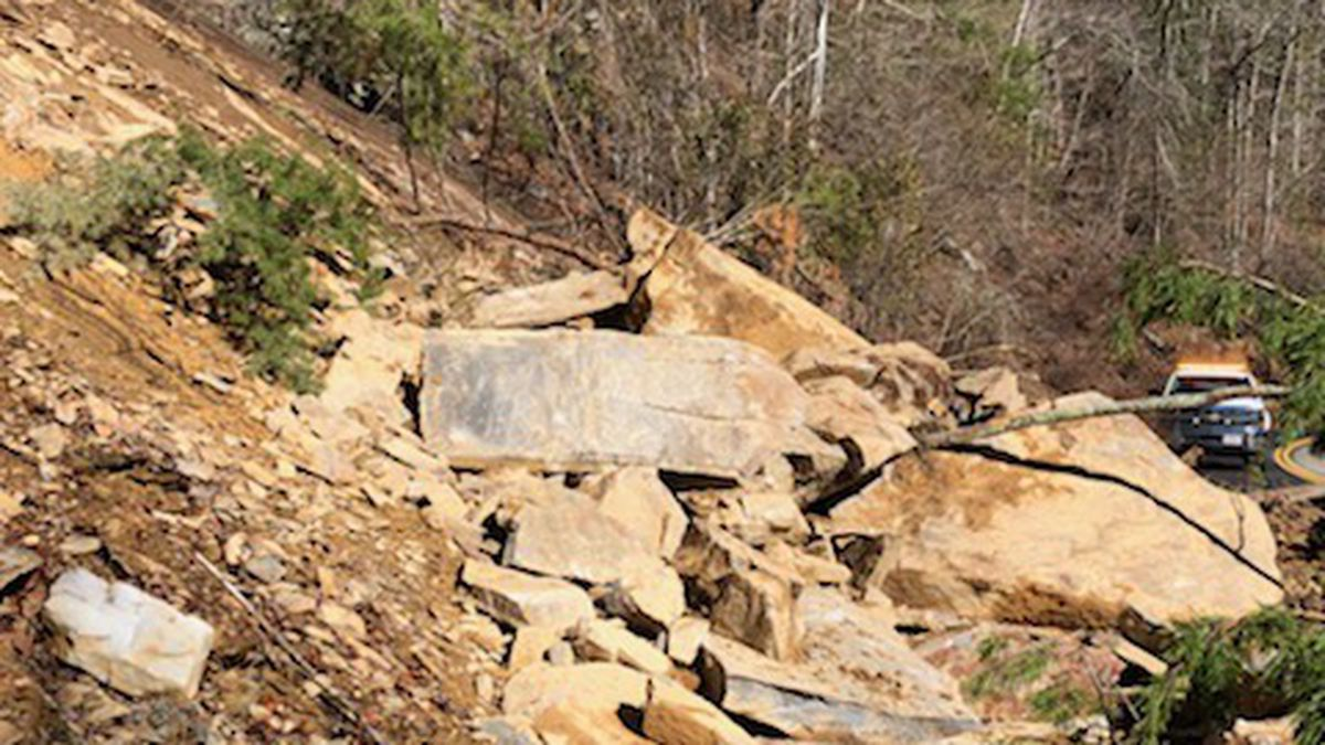 Rock slide closes Little River Road / Source: (National Park Service)