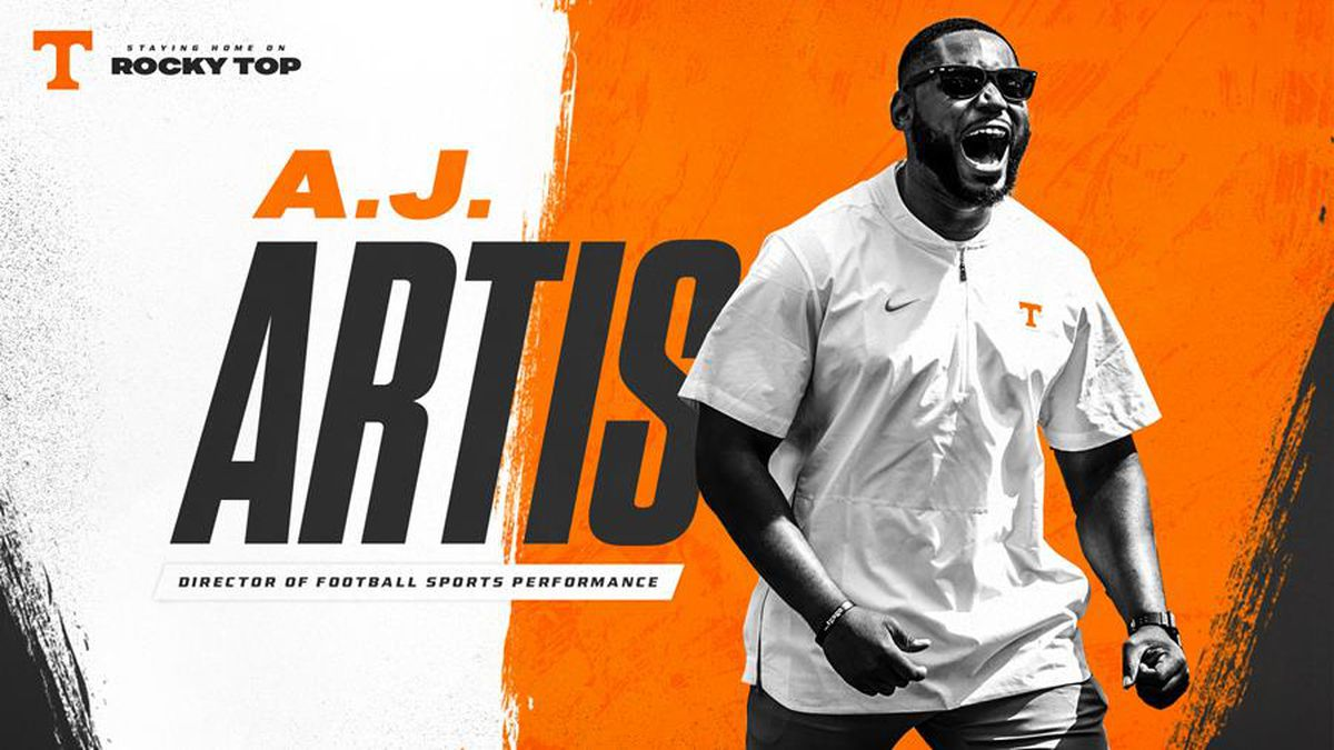 A.J. Artis takes over strength and Conditioning staff at Tennessee