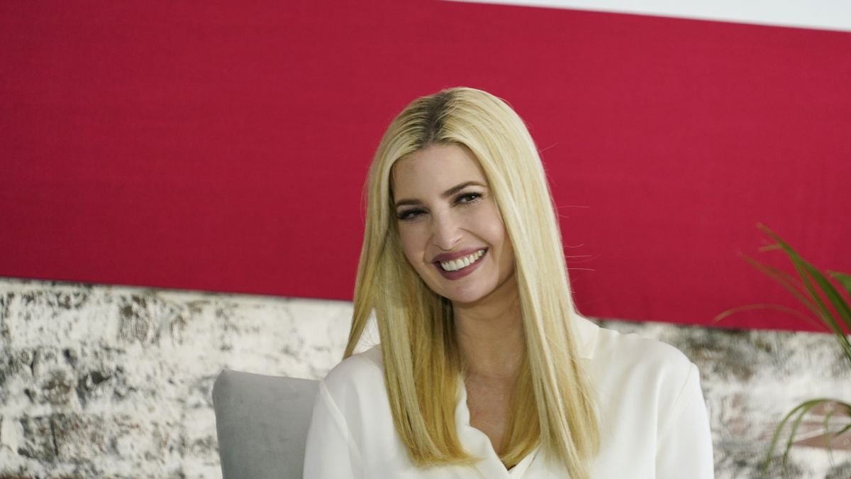 FILE - Ivanka Trump, daughter and adviser to then-President Donald Trump, speaks during a...