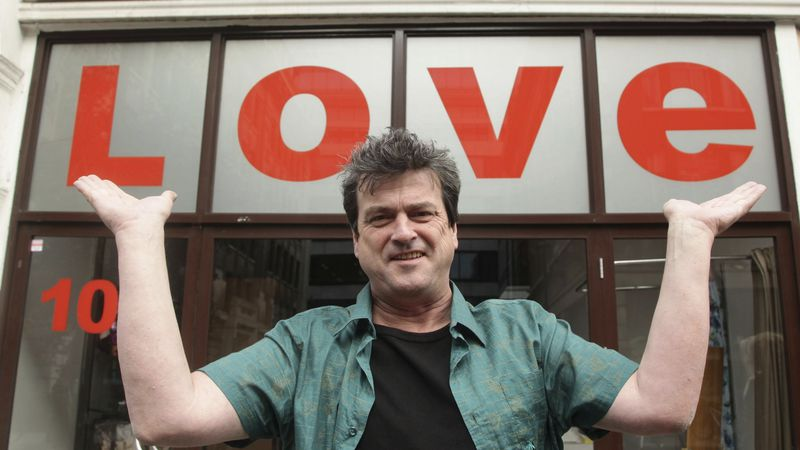 FILE- In this Oct. 7, 2010 file photo, Bay City Rollers singer Les McKeown poses for the media...