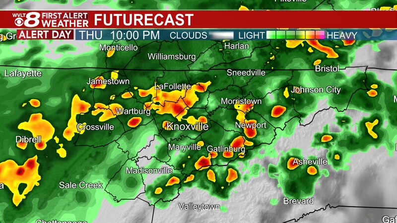 First Alert starts Thursday night as cold front moves in