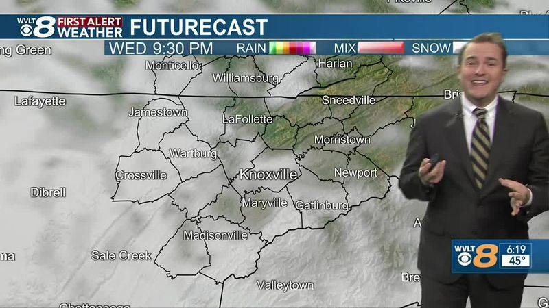 Tracking chilly air heading into the weekend