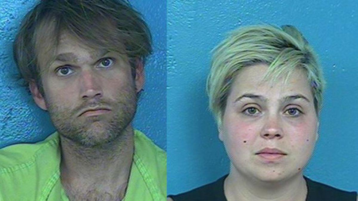 Dean and Kayla Sparks / Source: WJHL/Sullivan County Jail