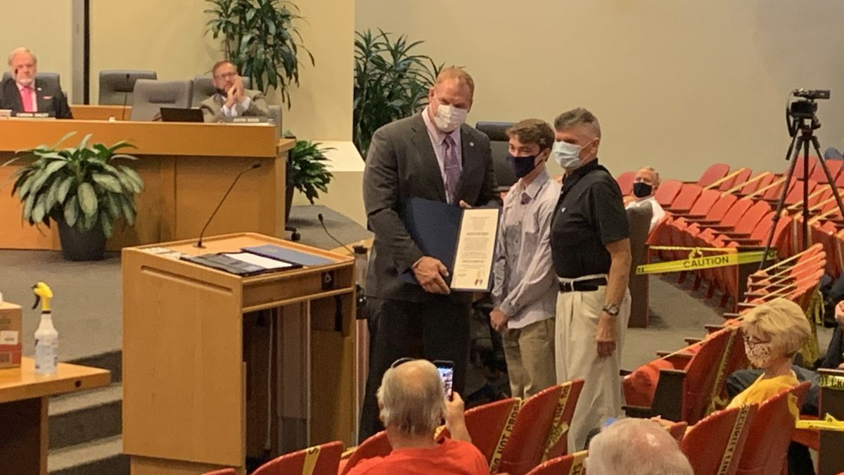 Mayor Jacobs to honor County employees for life-saving efforts.