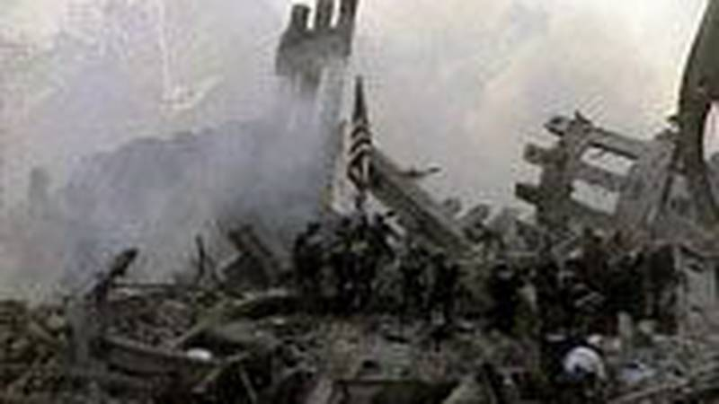 Ground Zero, September 11th, 2001.