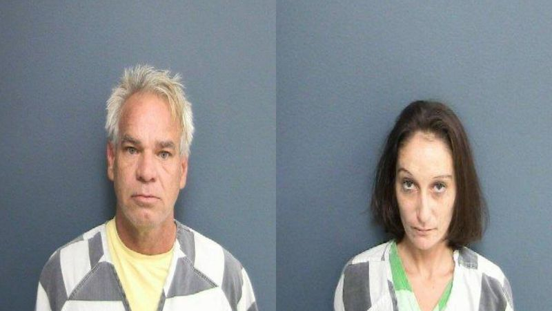 Robert S. Holmes, 51, and Amy J. Brumfield, 33, of were charged with Abuse of a Corpse. /