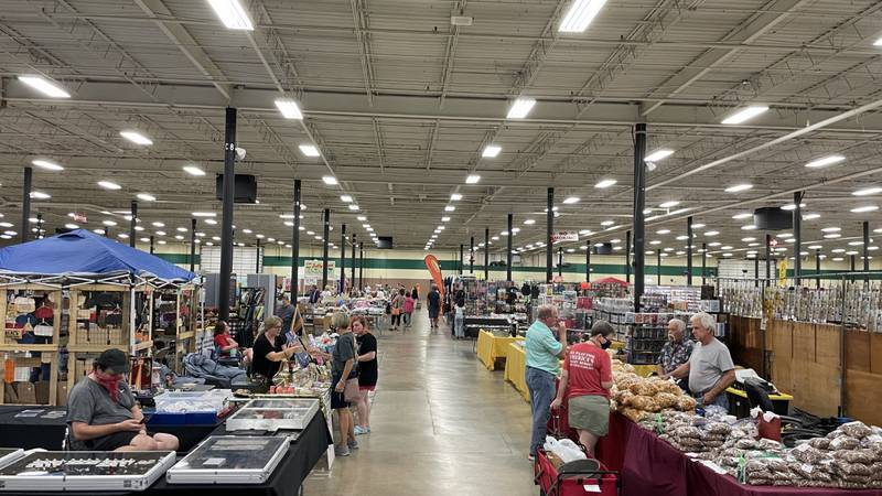 Knoxville Flea Market returns to the Expo Center.
