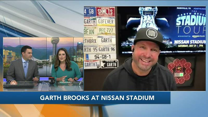 Garth Brooks on his concert at Nissan Stadium