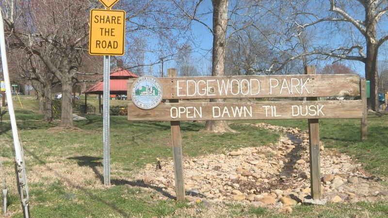 Cleaning up Edgemoor Park in North Knoxville