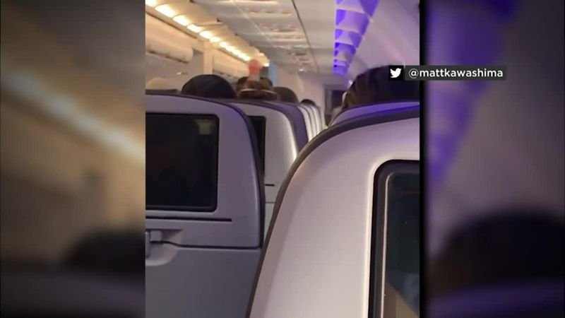 Witnesses say the passenger made inappropriate comments to numerous female passengers and...
