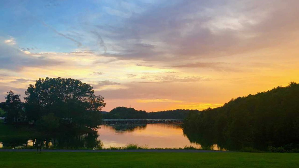 Donna Tucker submitted this Sunday evening sunset from Cherokee Lake through the WVLT Weather App.