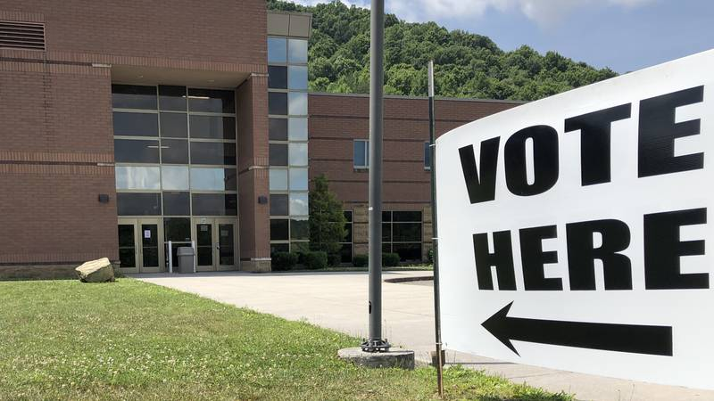 Voting location in Knox County.