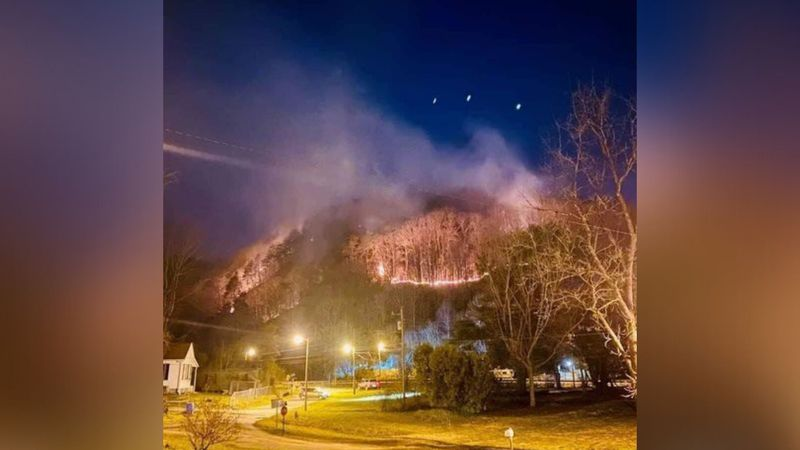 The agencies cut off the fire lines surrounding the blaze and were continuing to monitor the...