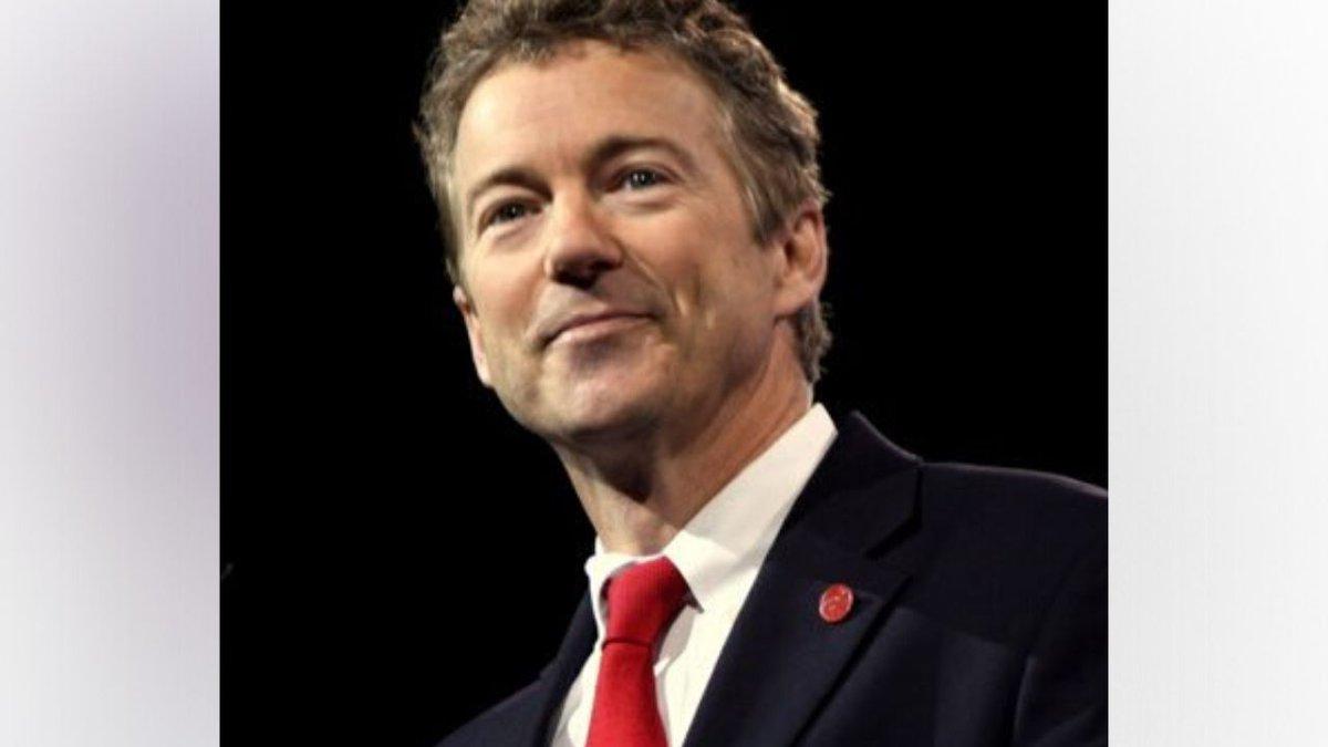 Rand Paul is the first U.S. senator to test positive for coronavirus . / Source: WVLT News