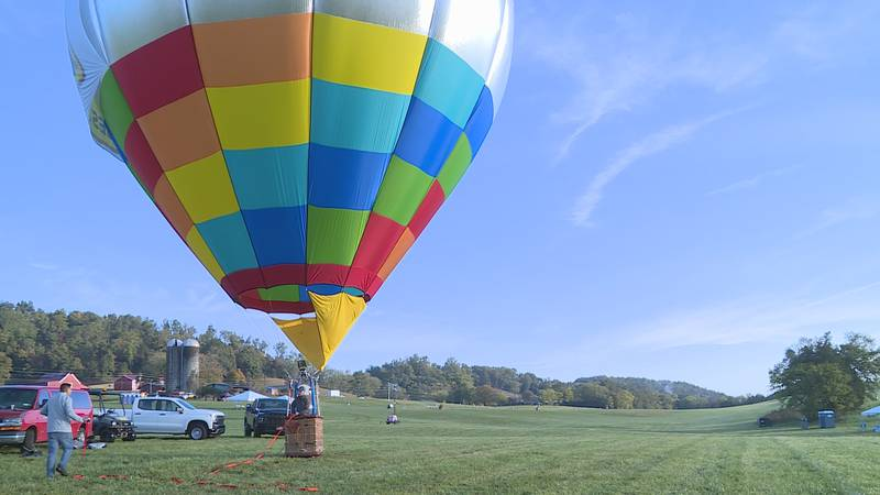 Hot air balloons to fly across East Tennessee this weekend.
