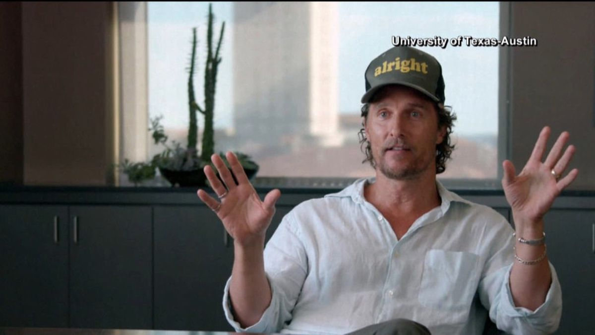 Actor Matthew McConaughey (NBC/University of Texas at Austin)