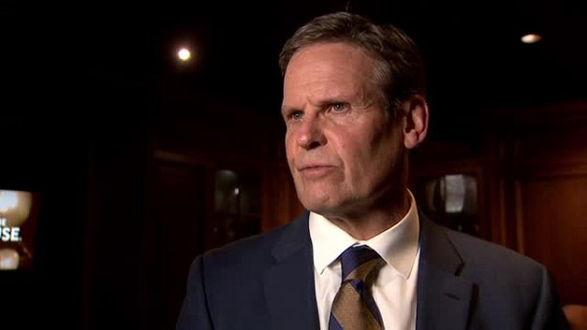 Tennessee Gov. Bill Lee says he is continuing to monitor the scandals surrounding House Speaker Glen Casada but says that it's up to the House to determine its leader's fate./ Source: WTVF