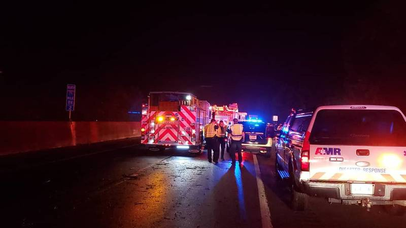 One dead and several injured in multi-vehicle crash on I-75