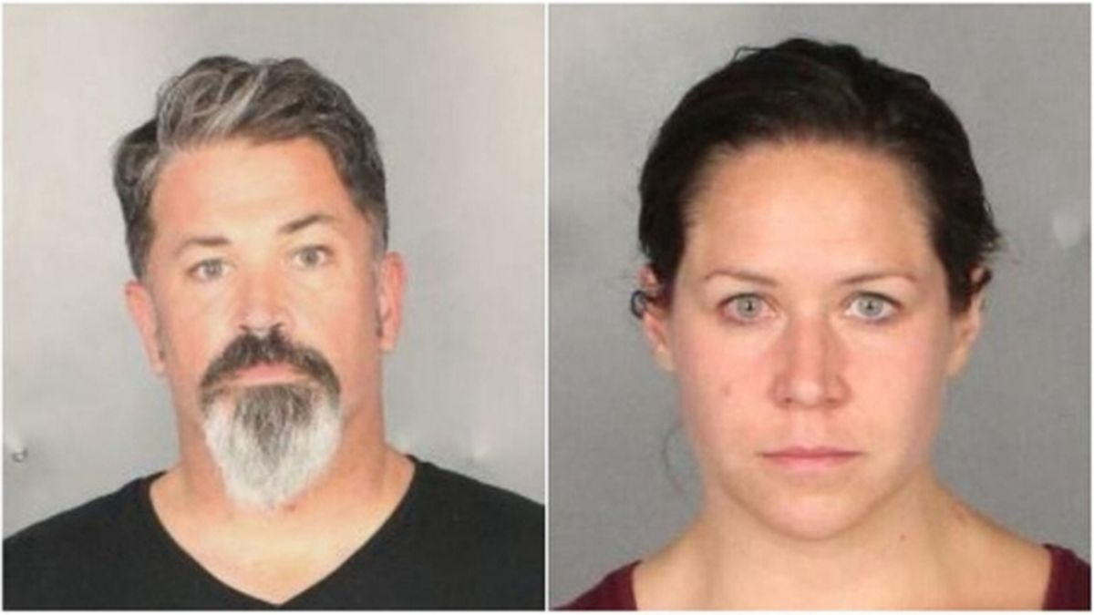 Attorneys Seth Andrew Sutton, 45, and Chelsea Tijerina, 33, of Waco Texas were jailed Friday and charged with solicitation of capital murder. / Source: (KWTX)
