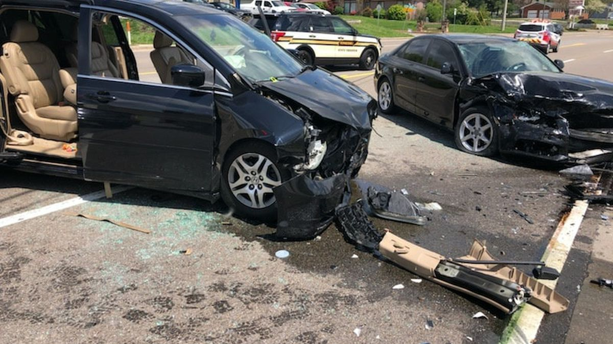 """""""This is our second accident in less than 4 hours in North Knox County,"""" Rural Metro said."""