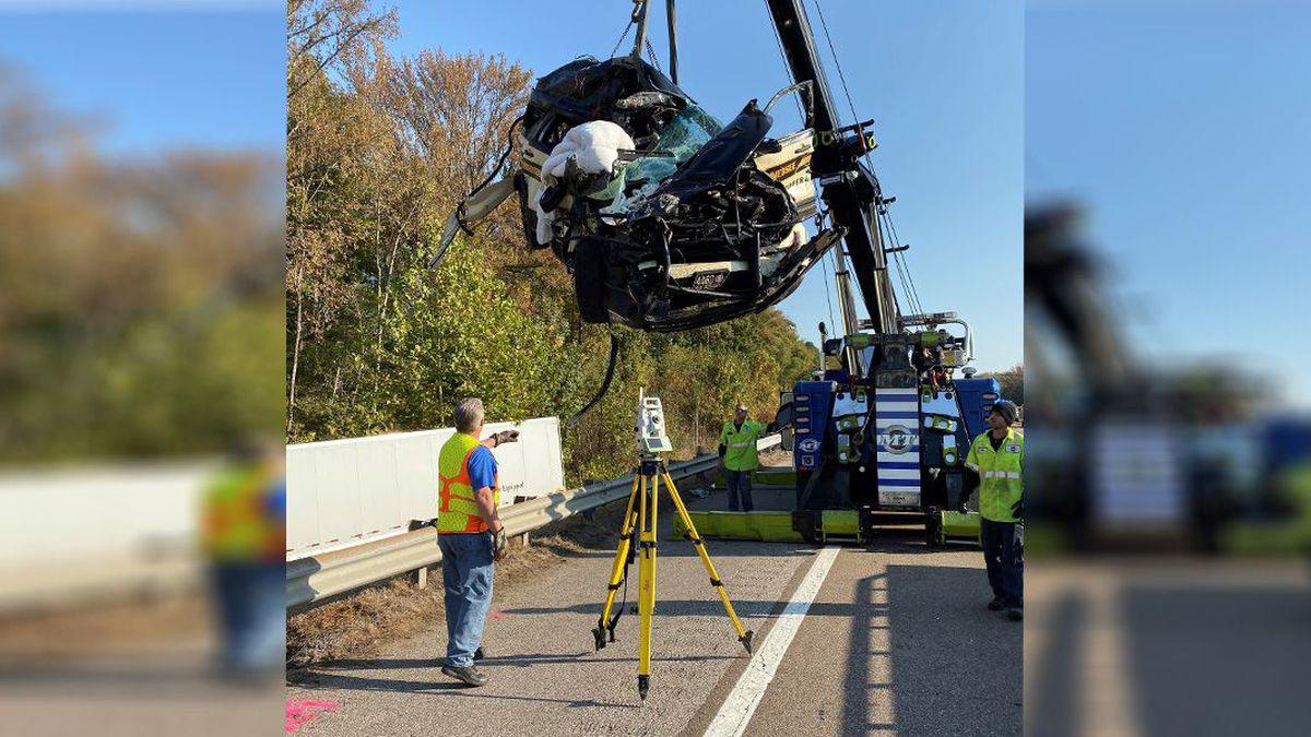 A State Trooper was hurt in a crash involving his patrol car / Source: (WMC)