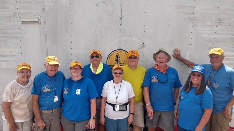 Volunteers from East Tennessee answer the call to help Waverly flood victims via the Tennessee...