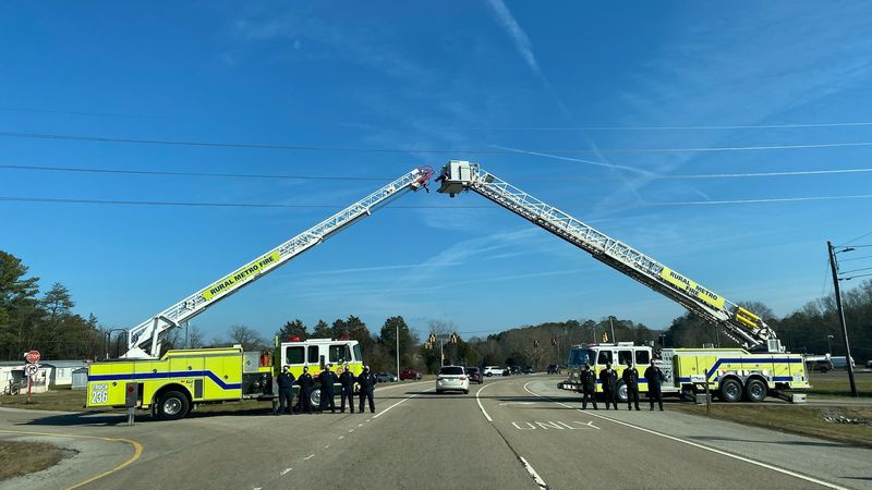 Rural Metro lays beloved fireman to rest