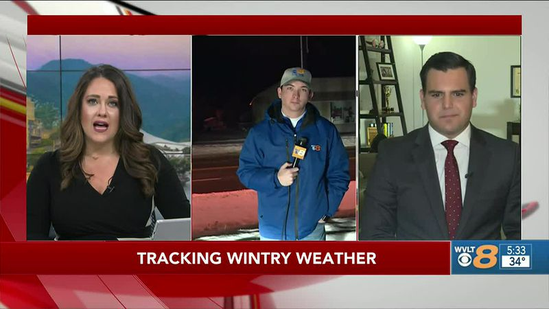 Will Puckett Tracking Winter Weather in Scott Co.