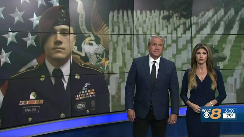 Veterans honor the sacrifice of Staff Sgt. Ryan Knauss from Corryton.