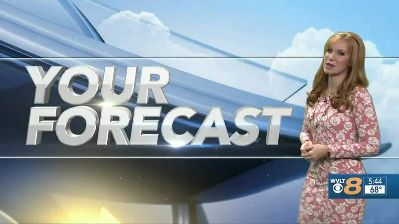 Your Forecast:  Spotty storms for today, more ahead