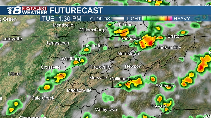 Isolated strong to severe storms possible Tuesday