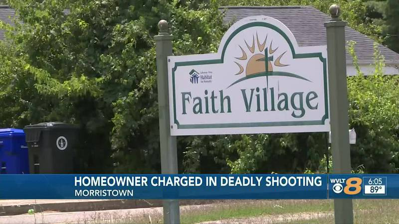 Homeowner charged in deadly Morristown shooting