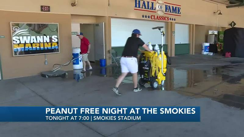The Smokies have partnered wit the Allergy, Asthma & Sinus Center to bring awareness to  peanut...