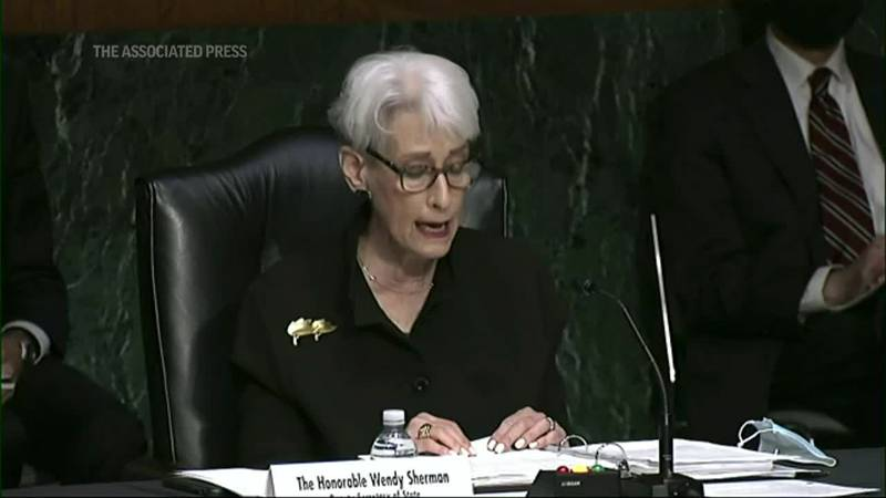 Appearing before the panel, Deputy Secretary of State Wendy Sherman spoke up for one apparent...
