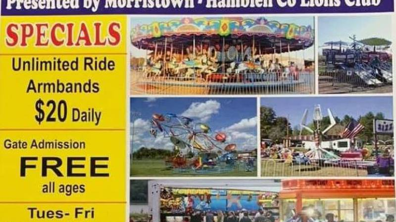 Carnival is coming to Morristown.