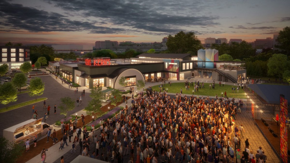 Kerns Bakery site will be home to restaurants, offices, shops, apartments and eventually a...