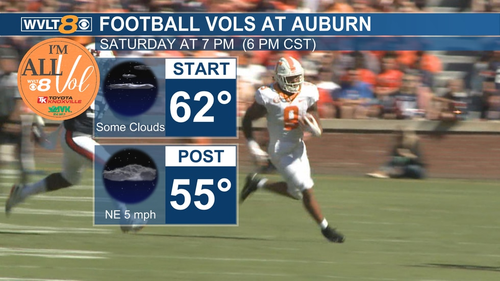 Saturday Vols are at Auburn
