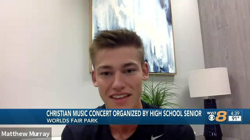 CAK senior organizes free Christian concert, worship event at World's Fair Park