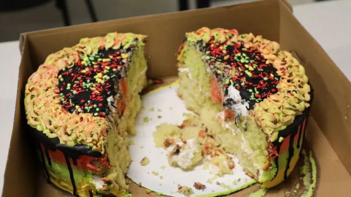 THC cake (Source: Charlotte County Sheriff's Office)