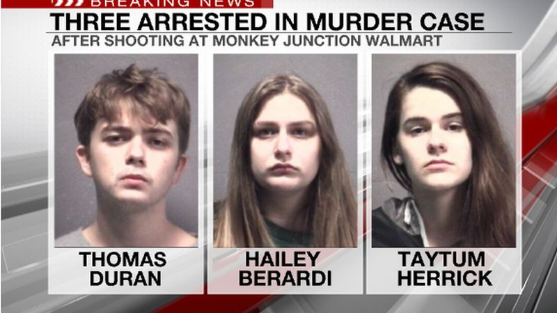 Three people, including two teenagers, were arrested after a shooting at a North Carolina...