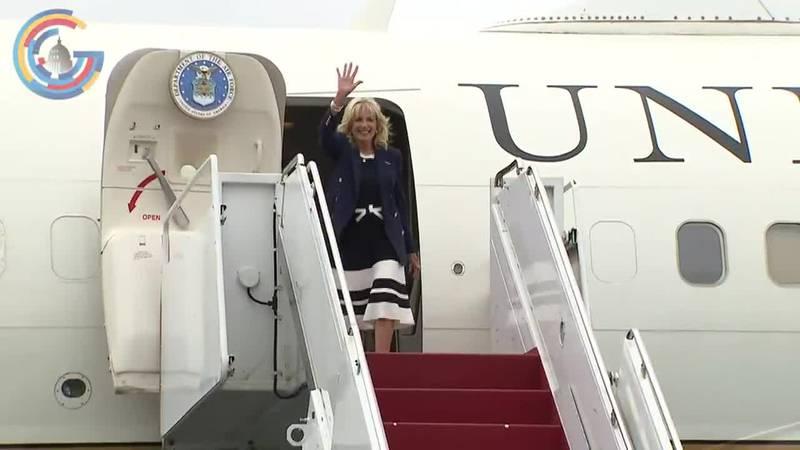 First Lady Jill Biden travels to Hawaii follow Tokyo visit