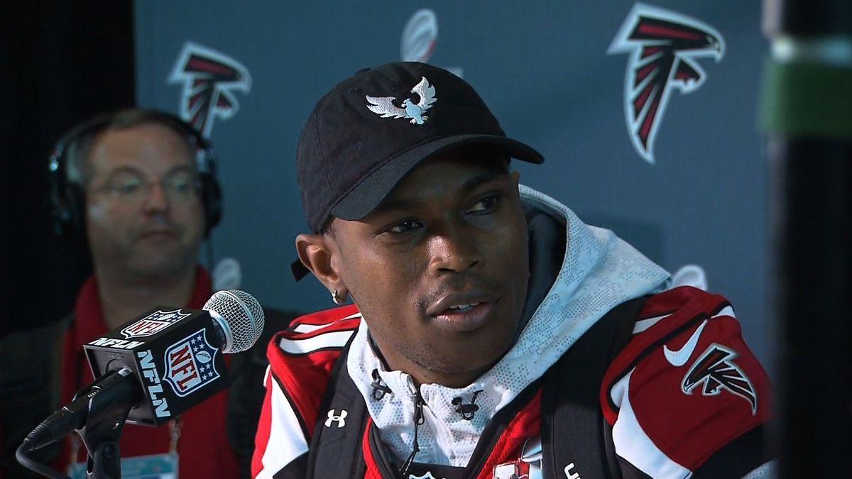 Atanta Falcons Wide Receiver Julio Jones.