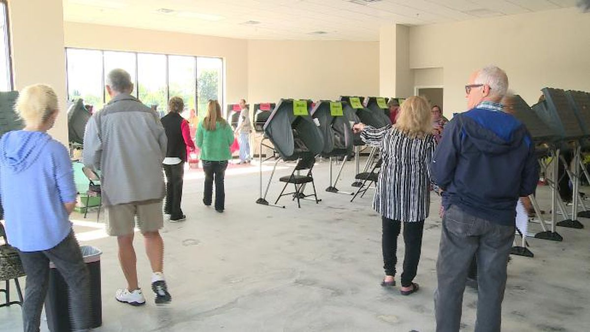 Early voting starts Wednesday, Oct. 16 at 10 a.m. / (WVLT)